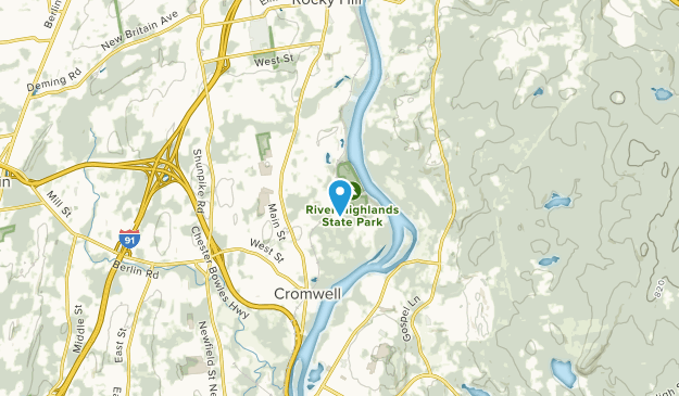 Cromwell, Connecticut Map