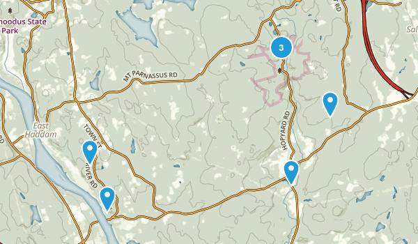 East Haddam, Connecticut Map