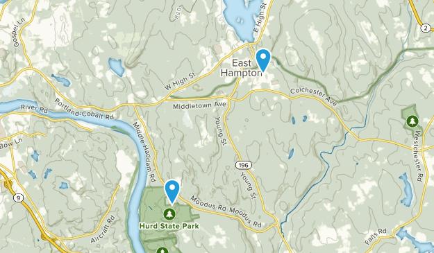 East Hampton, Connecticut Map