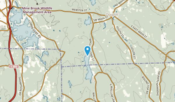 East Thompson, Connecticut Map