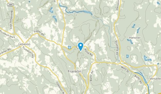 Franklin, Connecticut Map