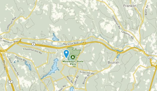 Gilman, Connecticut Map