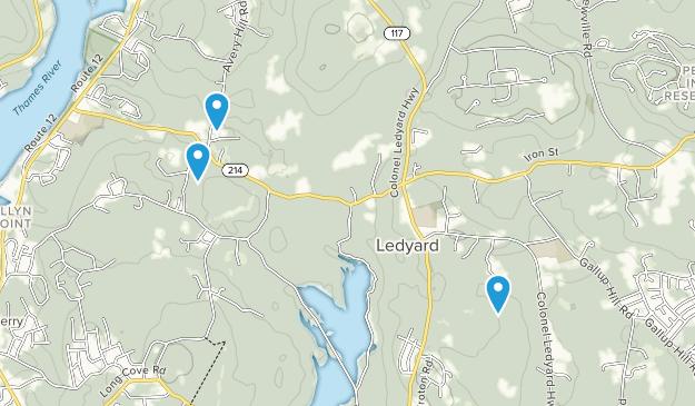 Happyland, Connecticut Map