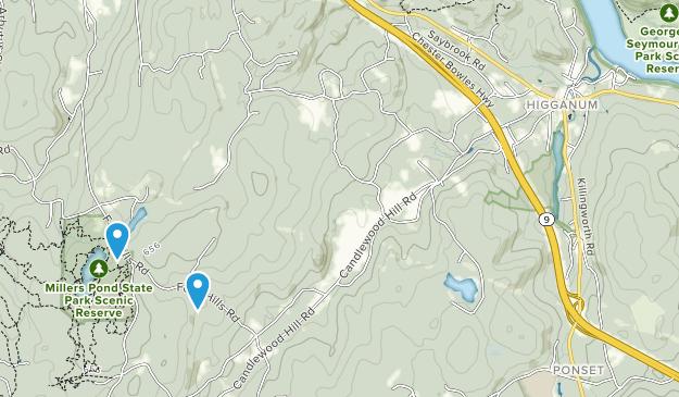Higganum, Connecticut Map
