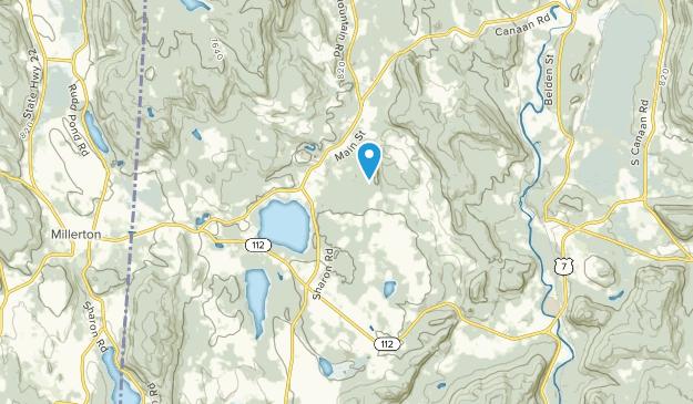 Lakeville, Connecticut Map