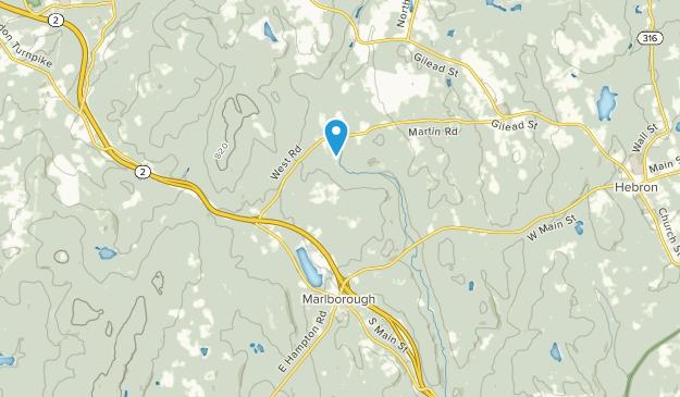 Marlborough, Connecticut Map