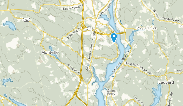 Montville, Connecticut Map