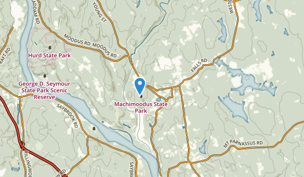 Moodus, Connecticut Map