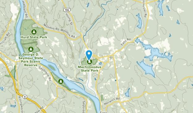 Moodus, Connecticut Map