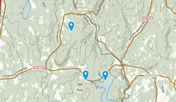 new hartford connecticut map