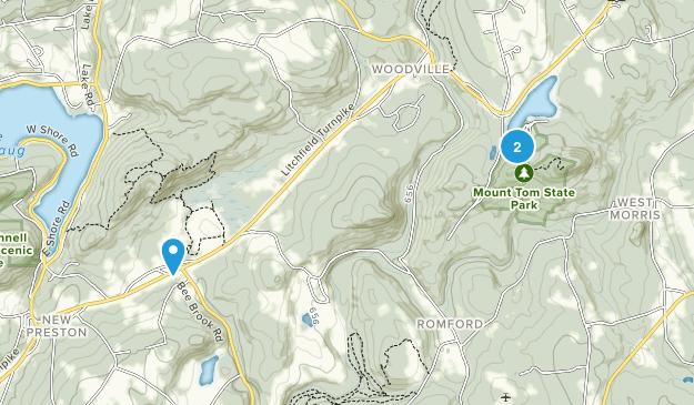 New Preston Marble Dale, Connecticut Map