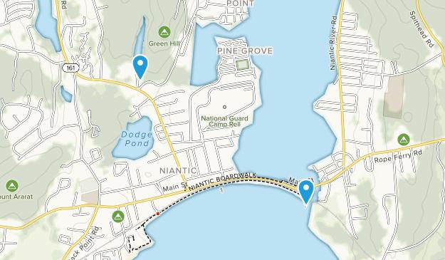 Niantic, Connecticut Map