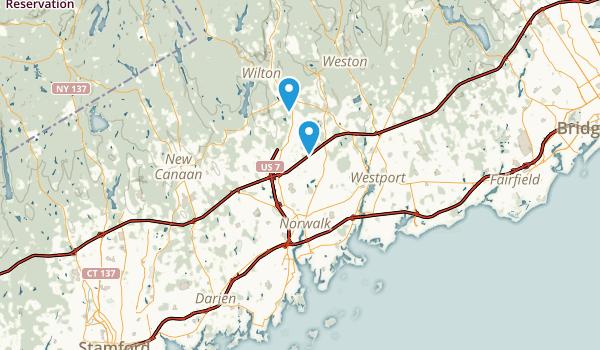 Norwalk, Connecticut Map