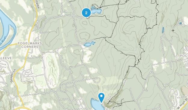 Portland, Connecticut Map
