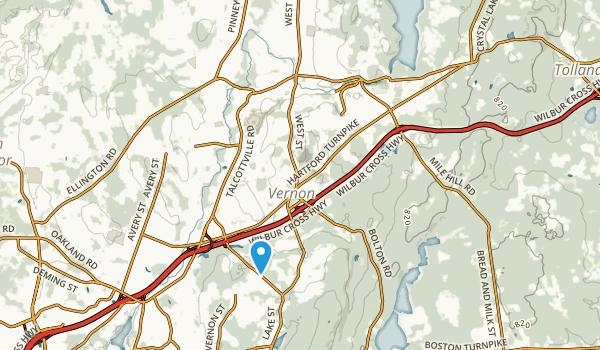 Rockville, Connecticut Map
