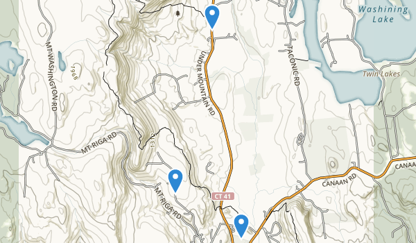 Salisbury, Connecticut Map