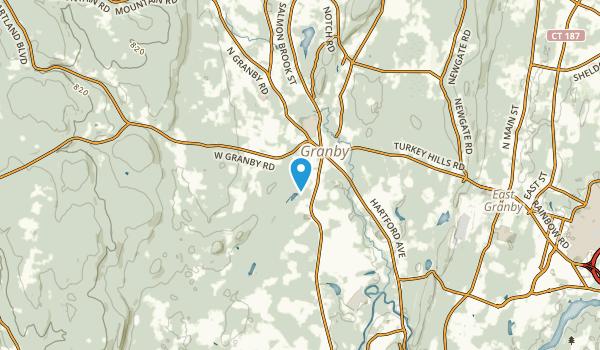 Salmon Brook, Connecticut Map