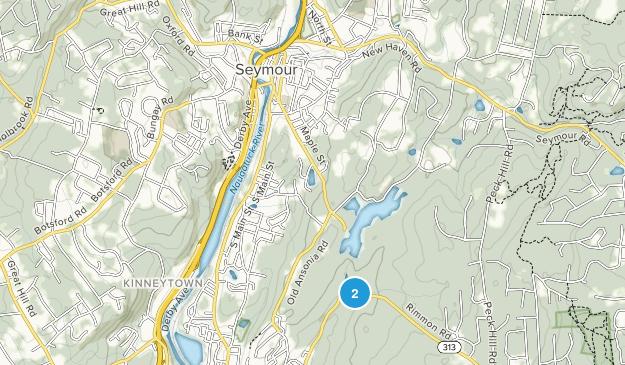 Seymour, Connecticut Map