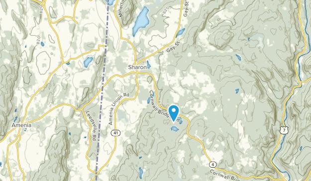 Sharon, Connecticut Map