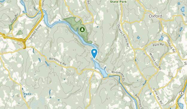 Stevenson, Connecticut Map