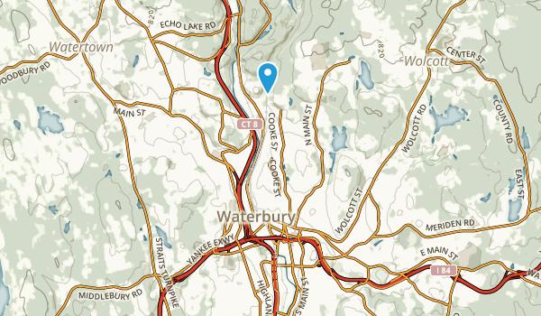 Waterbury, Connecticut Map