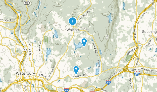 Wolcott, Connecticut Map