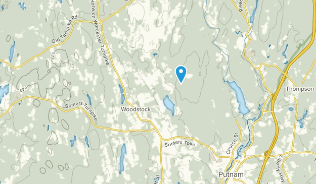 Woodstock, Connecticut Map