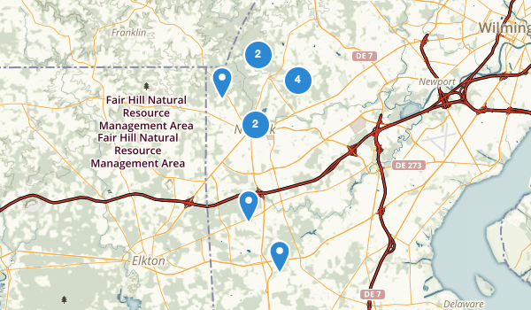 Location Of Nature Center At White Clay Park