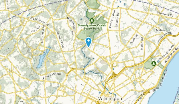 Rockland, Delaware Map