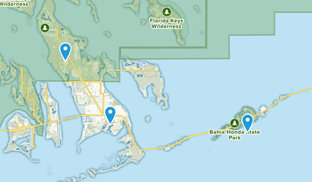 Big Pine Key, Florida Map