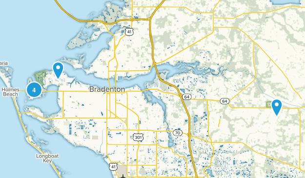 Bradenton, Florida Map