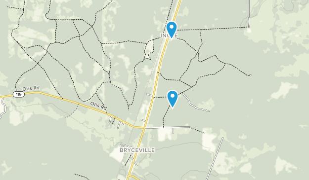 Bryceville, Florida Map