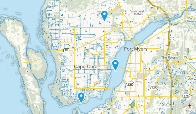 Cape Coral Florida Map.Cape Coral Florida Map Map Free Map Usa Images