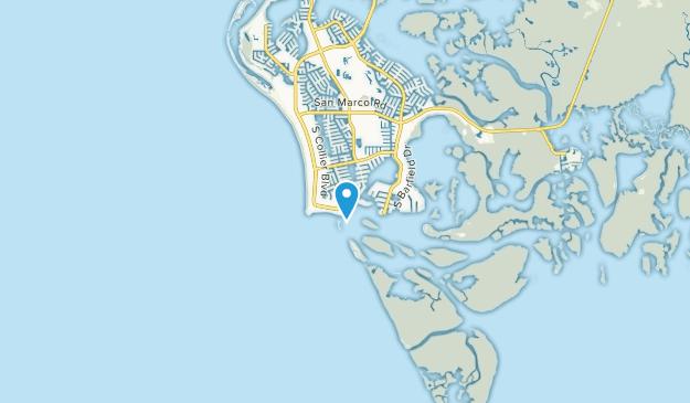 Caxambas, Florida Map