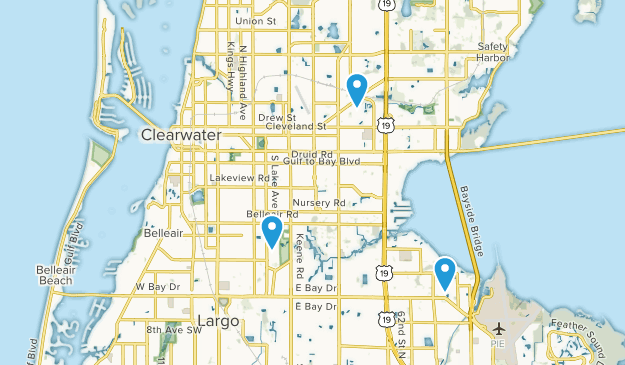 Map Of Florida Clearwater.Best Trails Near Clearwater Florida Alltrails