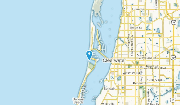 Map Of Florida Clearwater.Best Trails Near Clearwater Beach Florida Alltrails