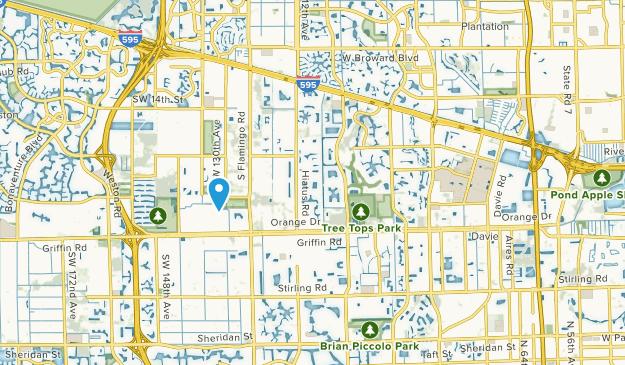 Davie, Florida Map