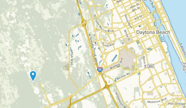 Daytona Beach Florida Map.Best Trails Near Daytona Beach Florida Alltrails