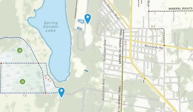 Springs In Florida Map.Best Trails Near De Leon Springs Florida Alltrails