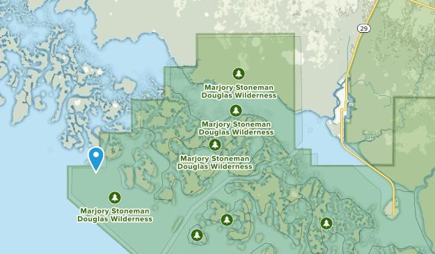 Everglades City, Florida Map