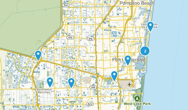 Lauderdale Florida Map.Best Trails Near Fort Lauderdale Florida Alltrails