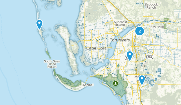 Fort Myers On Florida Map.Best Trails Near Fort Myers Florida Alltrails