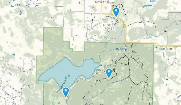 Hidden River, Florida Map