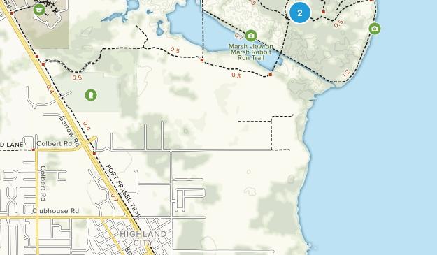 Highland City, Florida Map