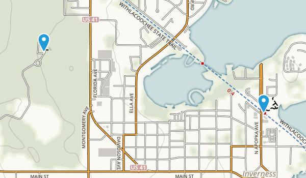Inverness, Florida Map