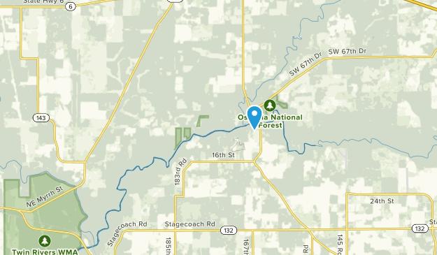 Jasper, Florida Map