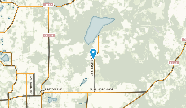 Johnsons Corner, Florida Map