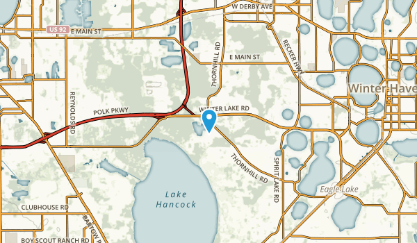 Jones Corner, Florida Map