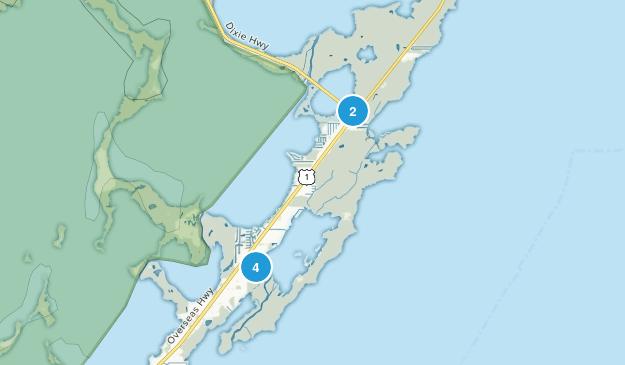 Key Largo, Florida Map