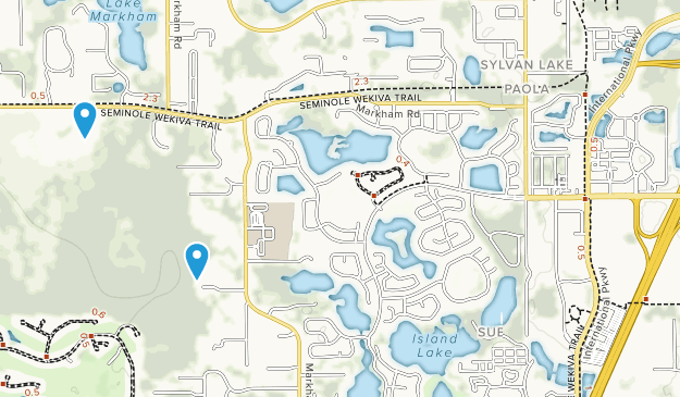 Lake Mary, Florida Map